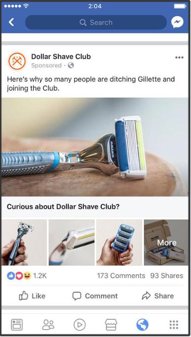 10 примеров рекламы в Facebook, которые вы можете протестировать уже сегодня