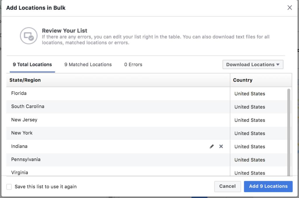 Советы по улучшению географического таргетинга в ваших кампаниях на Facebook