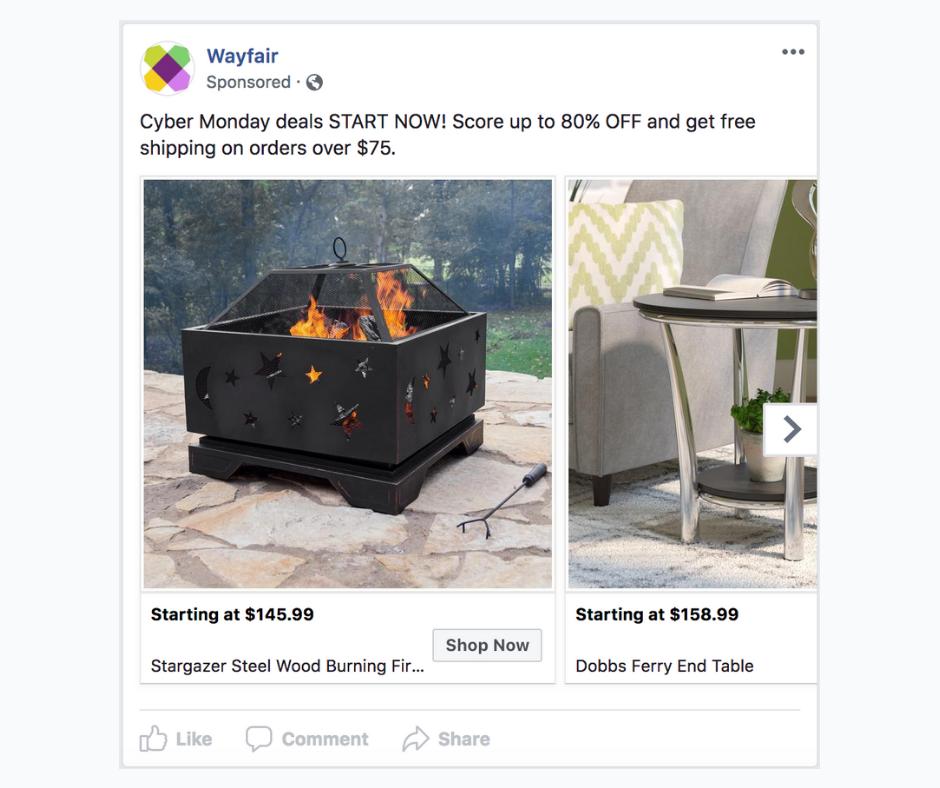 Facebook: как и когда использовать разные типы объявлений