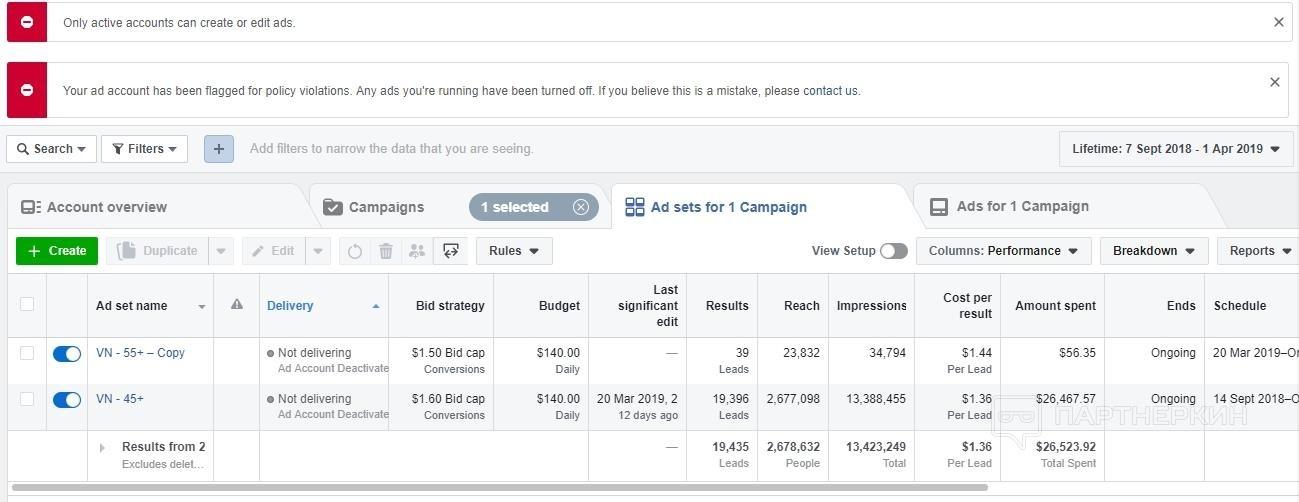 Кейс: сливаем гель для суставов с Facebook на Азию