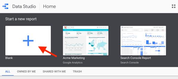 Как использовать Google Data Studio для анализа ваших объявлений в Facebook