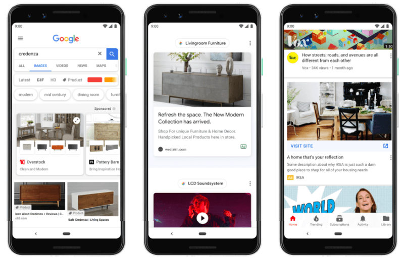 Google объявляет о новых форматах рекламы, обновленном способе покупок, новых местах размещения на Google Marketing Live