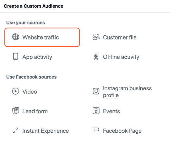 Создание кампании с целью Охват на Facebook