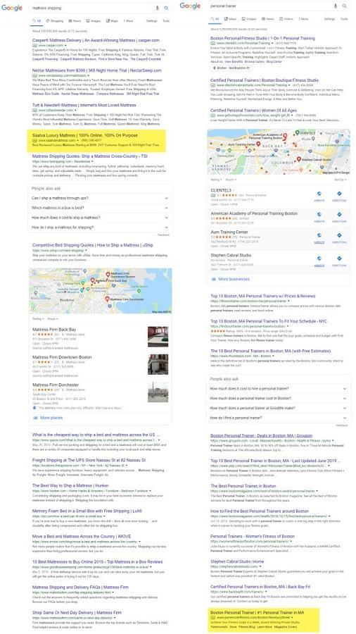 До свидания, средняя позиция Google!