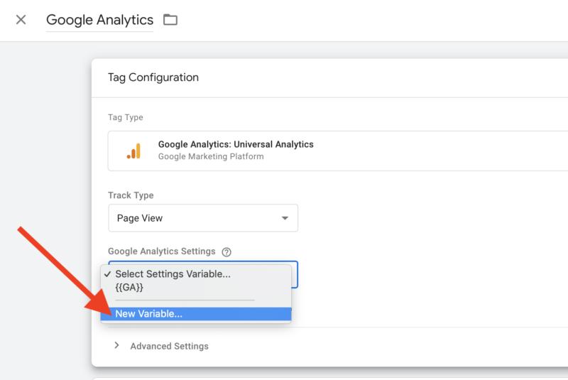 Упрощение конфигурации Google Analytics с помощью диспетчера тегов Google