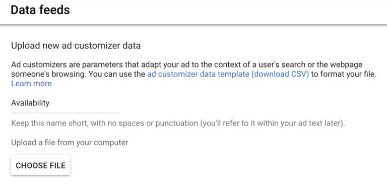 Как добавить обратный отсчет доступности в объявления Google