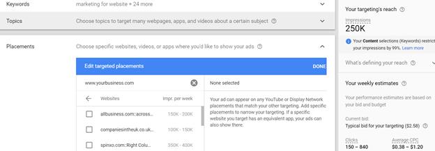 Увеличиваем охват с помощью Google Ads Display Planner