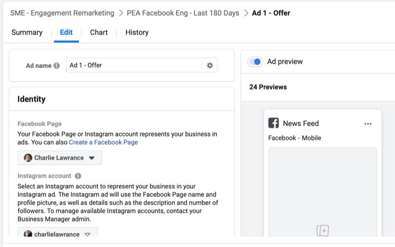 Как ретаргетировать рекламу на подписчиков Instagram и Facebook