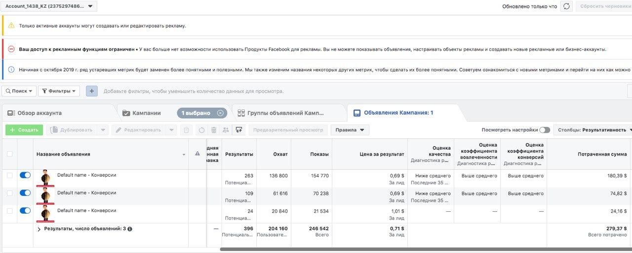 Кейс: сливаем на паразитов в Узбекистан из Facebook