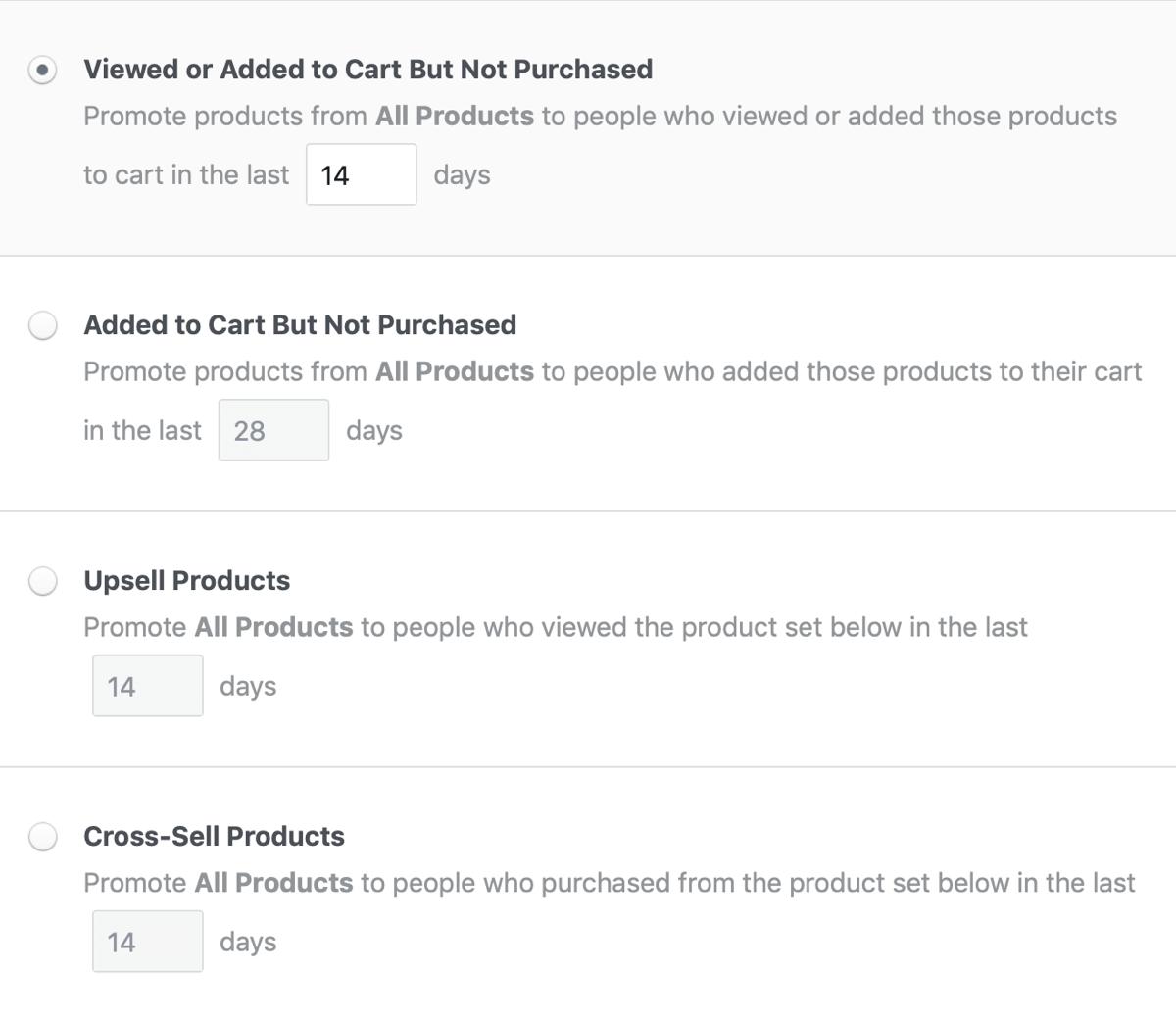 Динамическая реклама товаров на Facebook