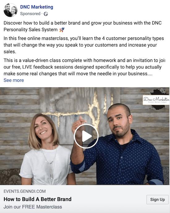 6 типов рекламных кампаний на FB для аудиторий разных температур