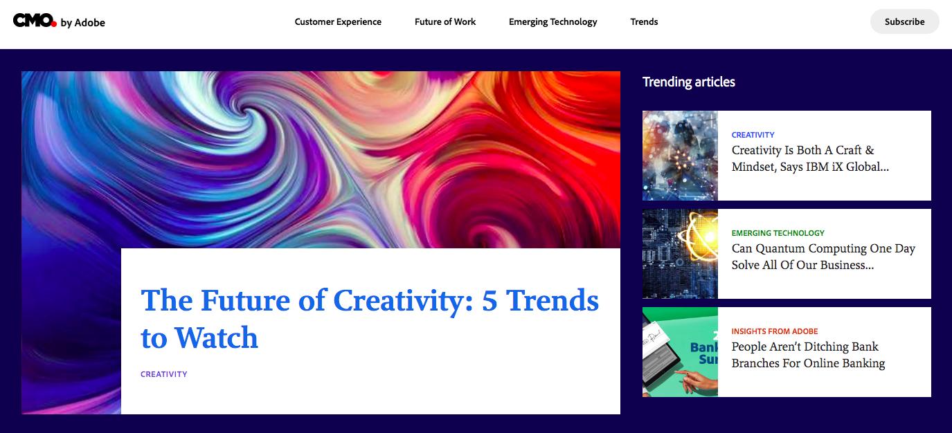 Как Adobe делает маркетинг: тематическое исследование