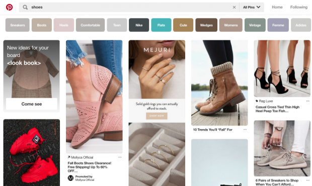 Как разместить рекламу на Pinterest