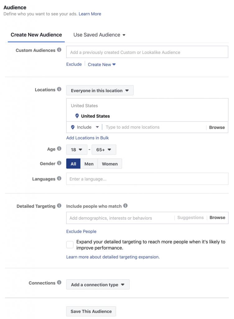 Как показывать рекламу на Facebook: руководство для начинающих