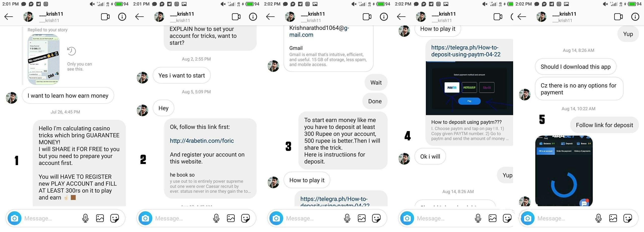 Кейс: сливаем гемблинг через Инстаграм в Индию